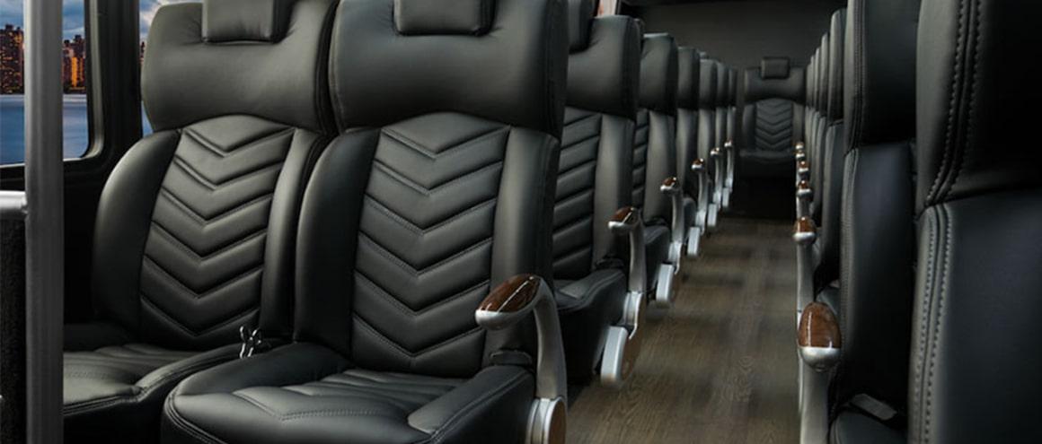 Blackbird Mini-Coach Fleet interior image