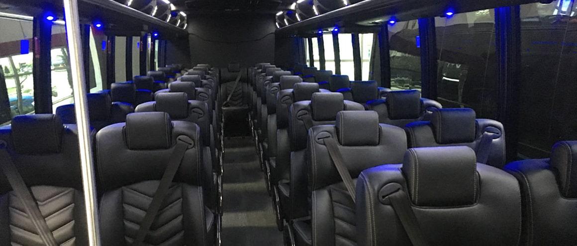 Blackbird Fleet Mini-Coach interior image