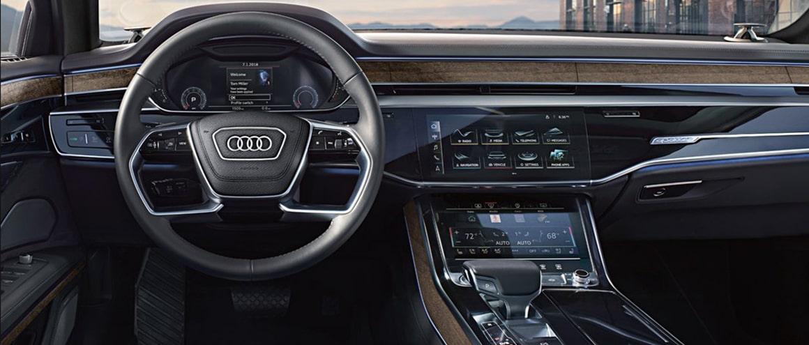 New York Premium Sedan Audi-A8 interior image