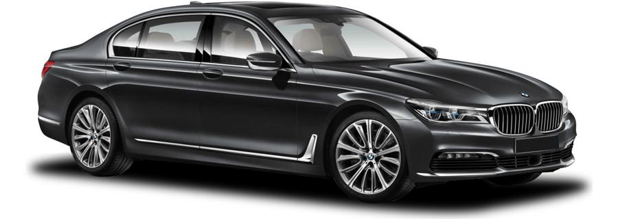 Blackbird BMW 740li Fleet image