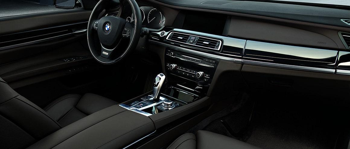 Blackbird Fleet BMW740 Li interior Image