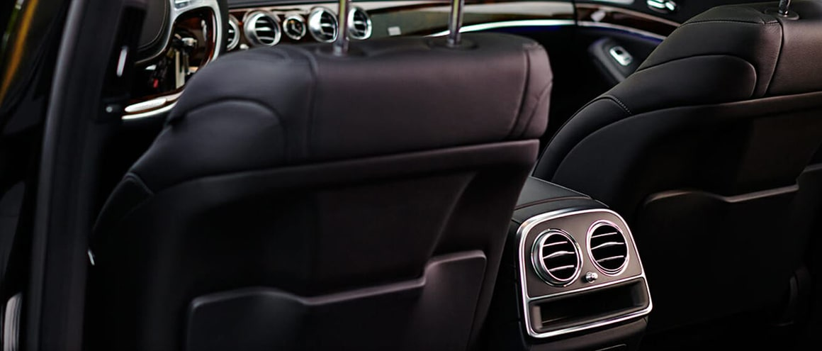 Blackbird Premium Sedan Mercedes S550 interior