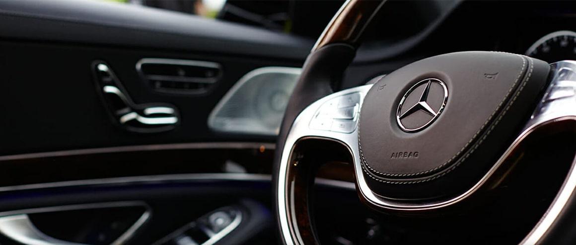 Mercedes S550 interior image