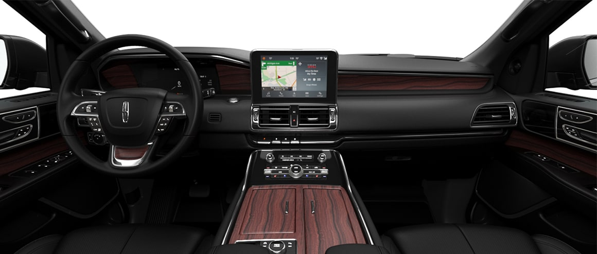 Sedan Services Cadillac XTS interiors