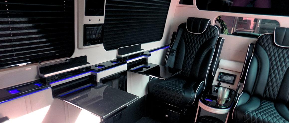 Blackbird Mercedes Benz Sprinter interior image
