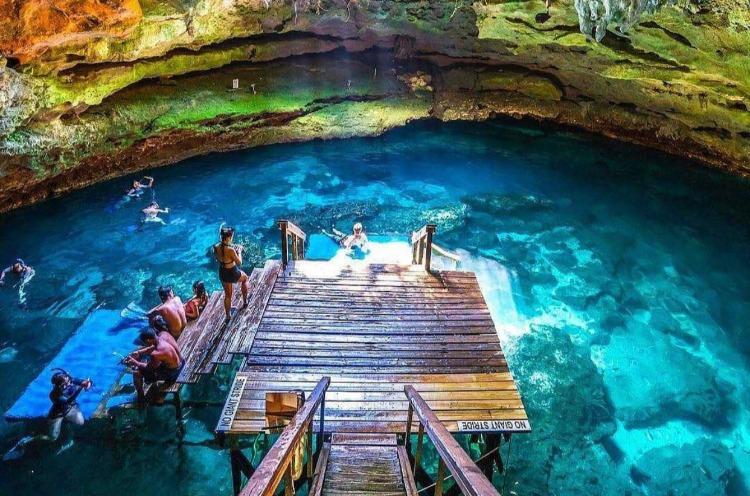 Devil's Den tourism Florida